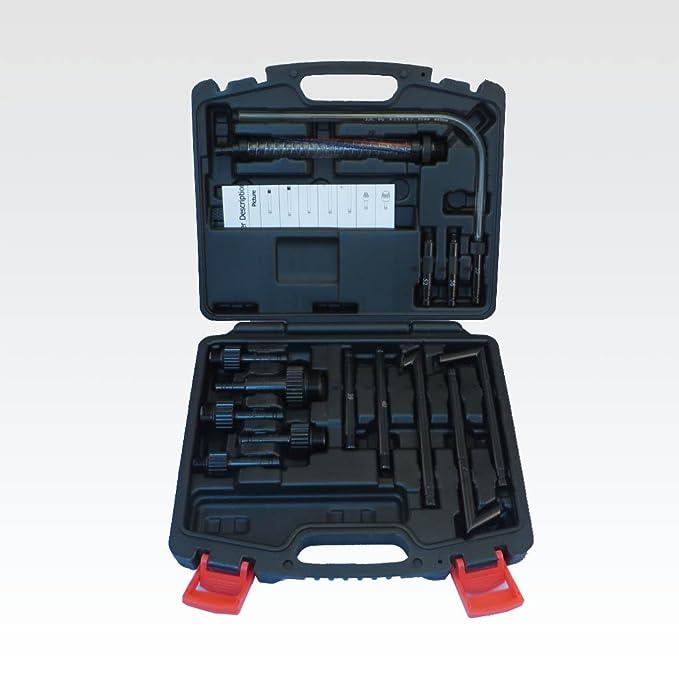 Ajuste Herramientas Nuevo 6L dos manera neumático automático dispensador de aceite Extractor con líquido de transmisión ATF 14 pcs adaptadores Bomba de ...