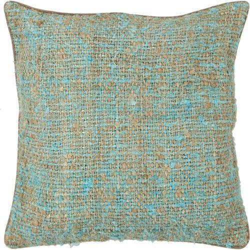 Chandra Rugs CUS28012-22 Decorative Silk Textured Fabric Pillow, 22