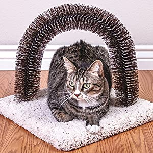 Ware Manufacturing Brush-N-Scratch Groomer for Cats