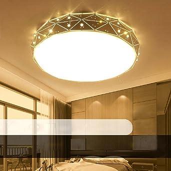 36W LED Blanco Cálido Moderno Lámpara De Techo Lámpara De ...
