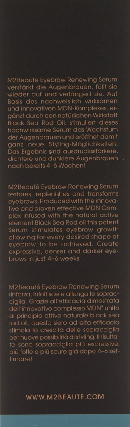M2beaute Full Set | Eyelash and Eyebrows Serum & M2Beaute Gift Box by M2Beaute (Image #2)