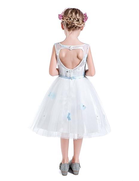 Amazon.com: Castillo de hadas niñas pequeñas hueco espalda ...