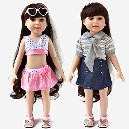 """DOLL CLOTHES -Tennis Shoes fits American Girl and 18/"""" Dolls"""