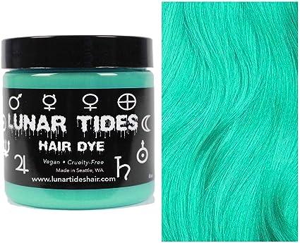 Beetle Green, tinte semi permanente para el cabello verde - 118 ml - Lunar Tides