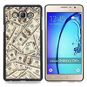 - Money Dollar Wallpaper Wealth Symbol Usa - Caja del tel????fono delgado Guardia Armor- For Samsung Galaxy On7 G6000 Devil Case