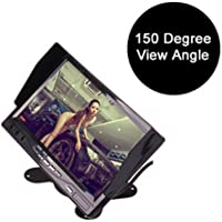 """7"""" TFT LCD Car Rearview Monitor, Remote Control, 2 Channels RCA Video Inputs - 12-24V 800 * 480HD Screen w/Sunshade Anti…"""