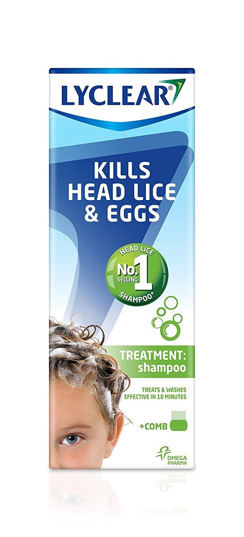 Lyclear Head Lice & Eggs Treatment Shampoo 200ml