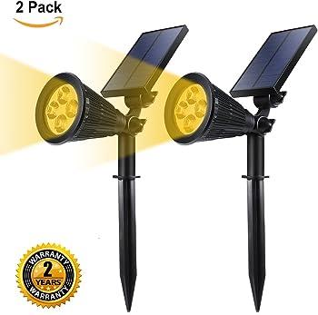 GreenPro Solar Powered LED Garden Spotlight