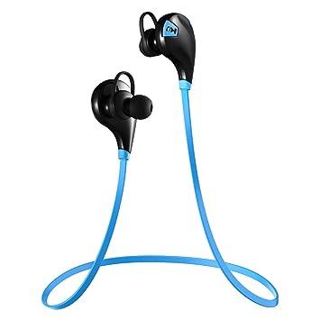 VicTsing - Auriculares inalámbricos deportivos para correr con Bluetooth V4.0 y micrófono, resistentes