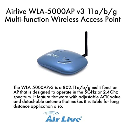 AIRLIVE WLA-5000AP 64BIT DRIVER DOWNLOAD