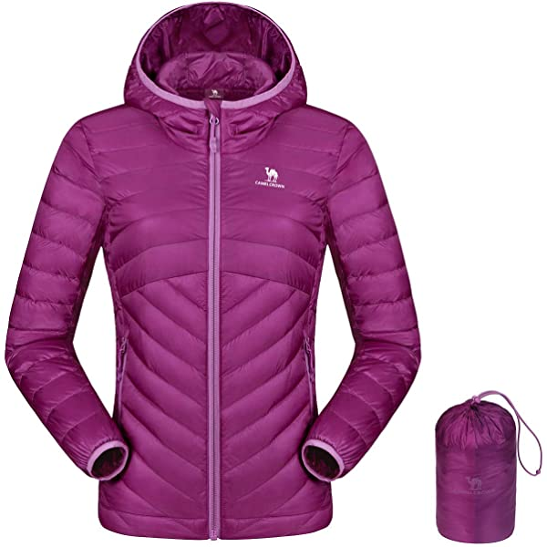 Risefar Damen Leichte Steppjacke /übergangsjacke Wasserdicht Recycelt Daunenjacke Herbst Winter Jacke
