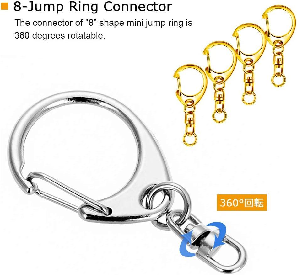 Black split jump ring key ring Key Ring mini Split Rings Keychain Key Rings jewelry making Jump Rings Key Ring Findings dog tag price tag