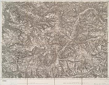 Amazoncom Historic Map Bozen Und Fleimsthal MapsAntique - Vintage sf map