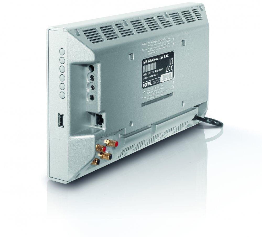 LOEWE Multiroom 50W 2.1canales Aluminio, Plata - Receptor AV (50 W, 2.1 canales, 100 W, 3,5 mm, Inalámbrico y alámbrico, AAC,FLAC,MP3,WAV,WMA): Amazon.es: ...
