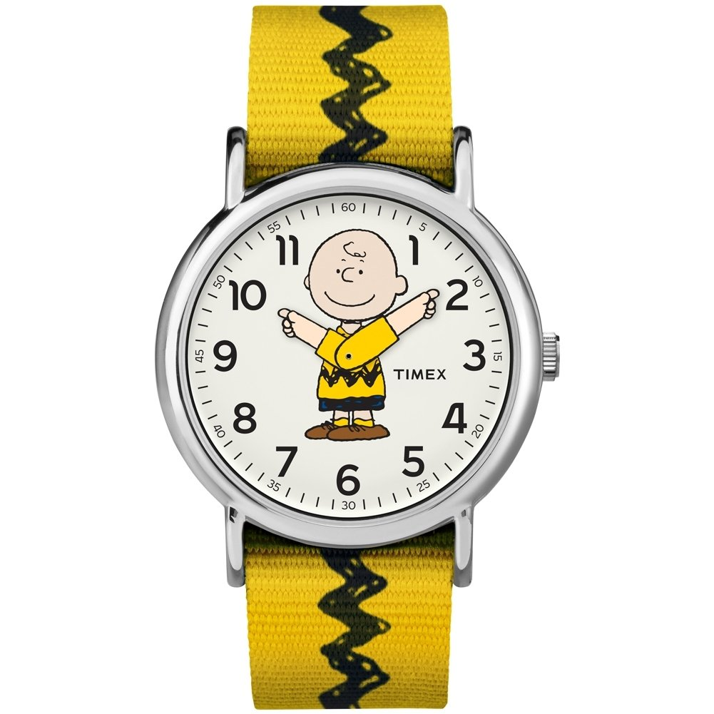 Timex x Peanuts Charlie Brown Unisex Watch TW2R411006B - Kids Watches by Timex