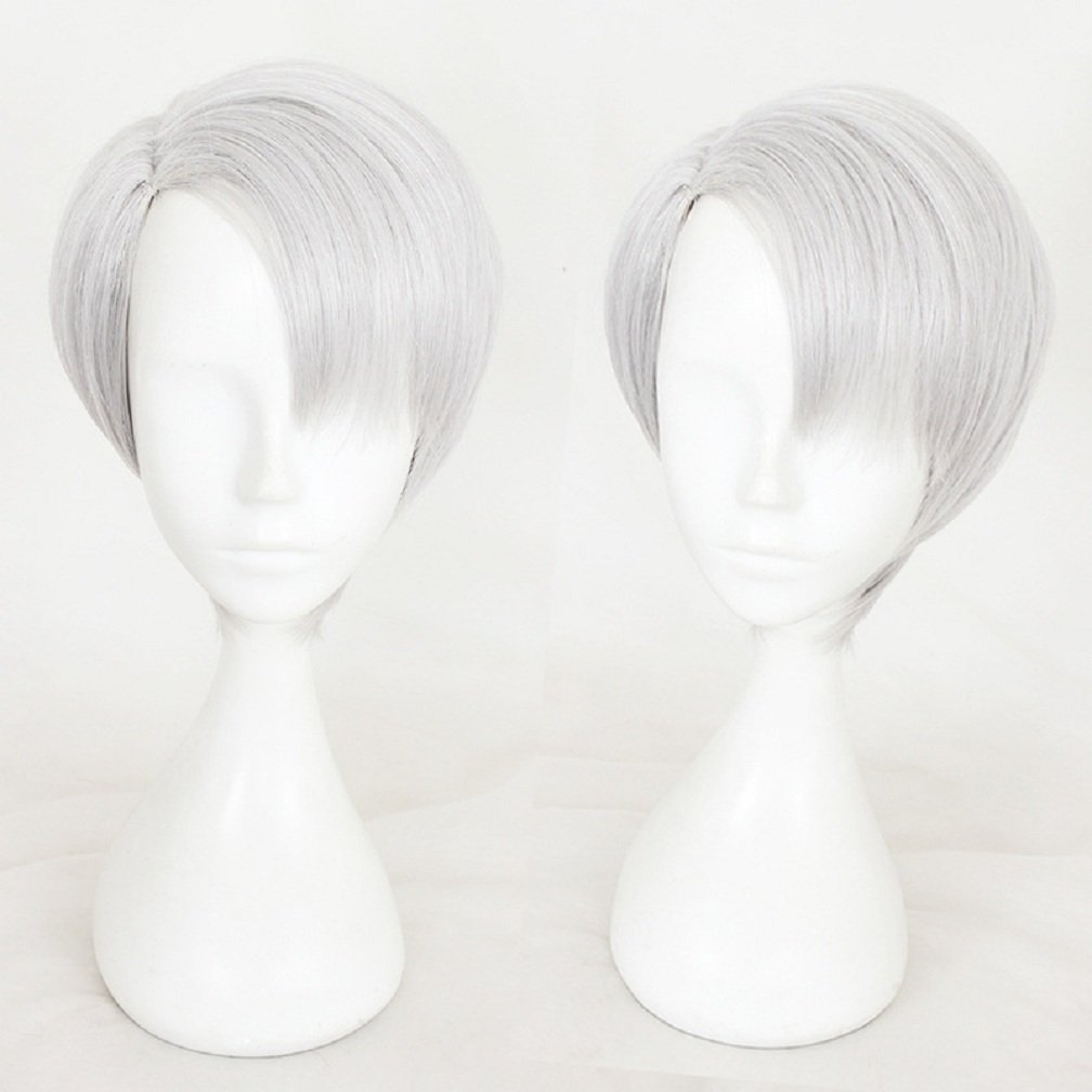 YOYOSHome Yuri On Ice Anime Viktor Nikiforov Cosplay Wig Party Hair (Viktor Nikiforov)