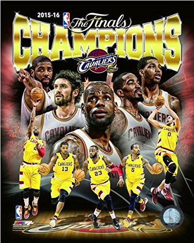 - Cleveland Cavaliers 2016 NBA Finals Champions Team Composite Photo (Size: 8
