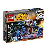 Safeguard the security of the Senate with the elite LEGO Star Wars Senate Commando Troopers battle pack! As featured in The Clone Wars animated TV series, this crack team of highly trained soldiers is armed to the teeth with weaponry. Fire the stud b...