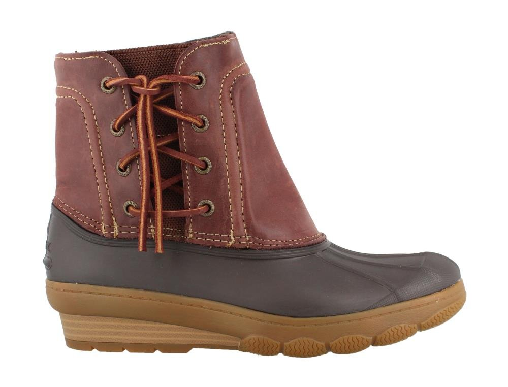 Sperry Womens Saltwater Closed Toe Ankle Cold Weather Boots, Brown 1, Size 8.0