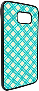 Squares decorated Printed Case for Galaxy S7