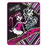 Mattel Monster High My Best Ghouls Throw Micro Raschel Blanket