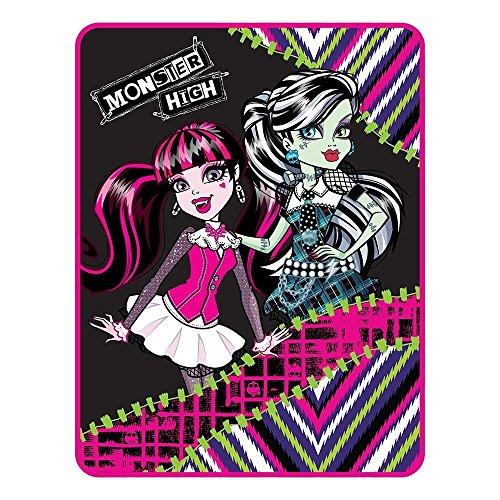Mattel Monster High My Best Ghouls Throw Micro Raschel Blanket -
