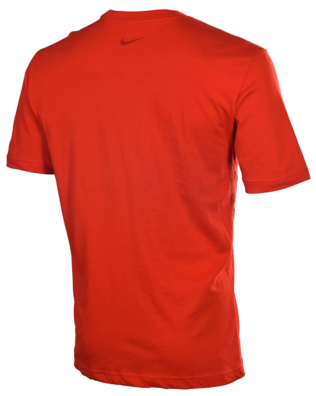 Nike Men's Dri-Fit Elite Basketball T-Shirt-Red