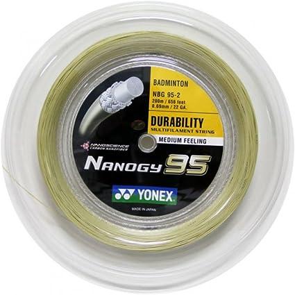 200M Set Yonex Nanogy 95 Badminton String
