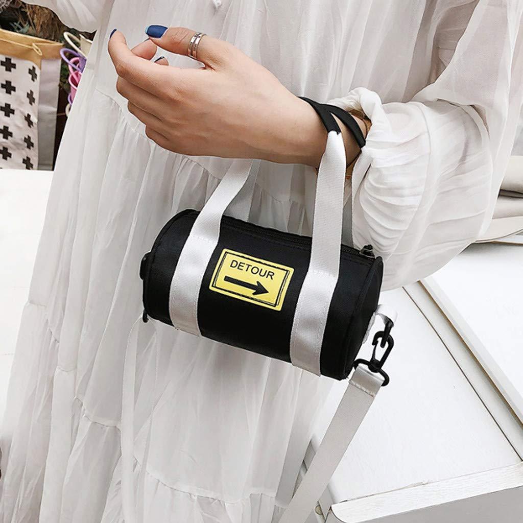 d28f42fb17 Bleu Foncé Sacs portés main BaZhaHei Petit Sac Bandoulière Femme en Toile  Fille Travel Sac à ...