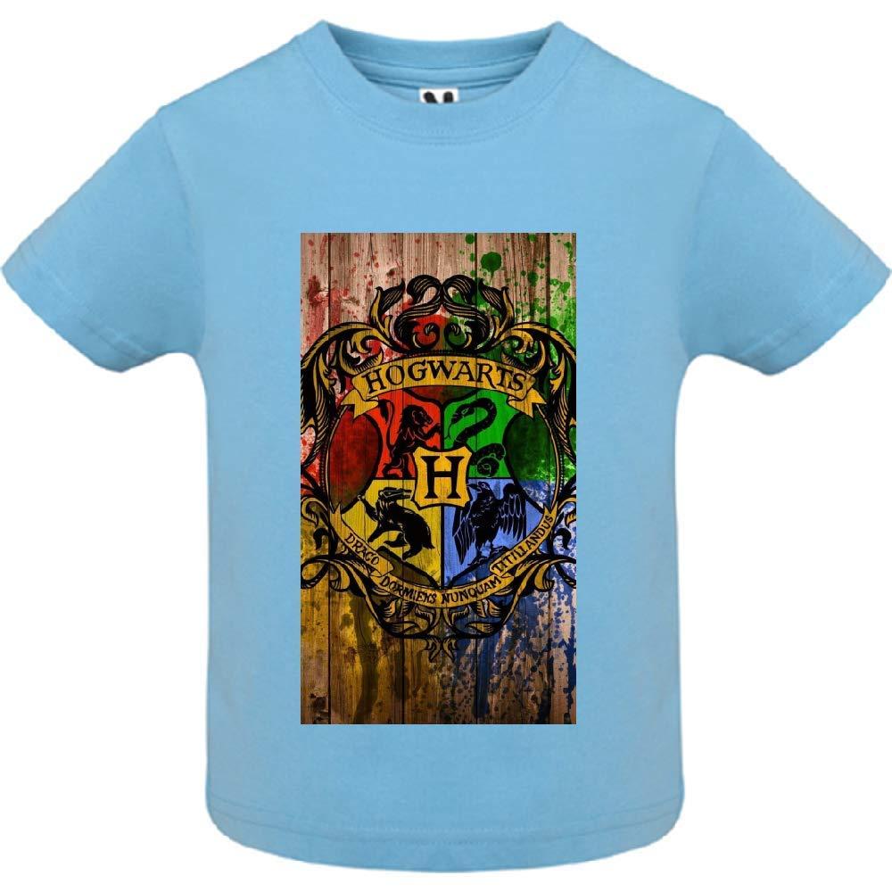 access-mobile-ile-de-re.fr T-Shirt - Manche Courte - Col Rond - Baguette et Magie 49 - Bébé Garçon - Bleu - 6mois