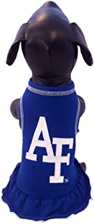 product image for NCAA Air Force Falcons Cheerleader Dog Dress, Tiny