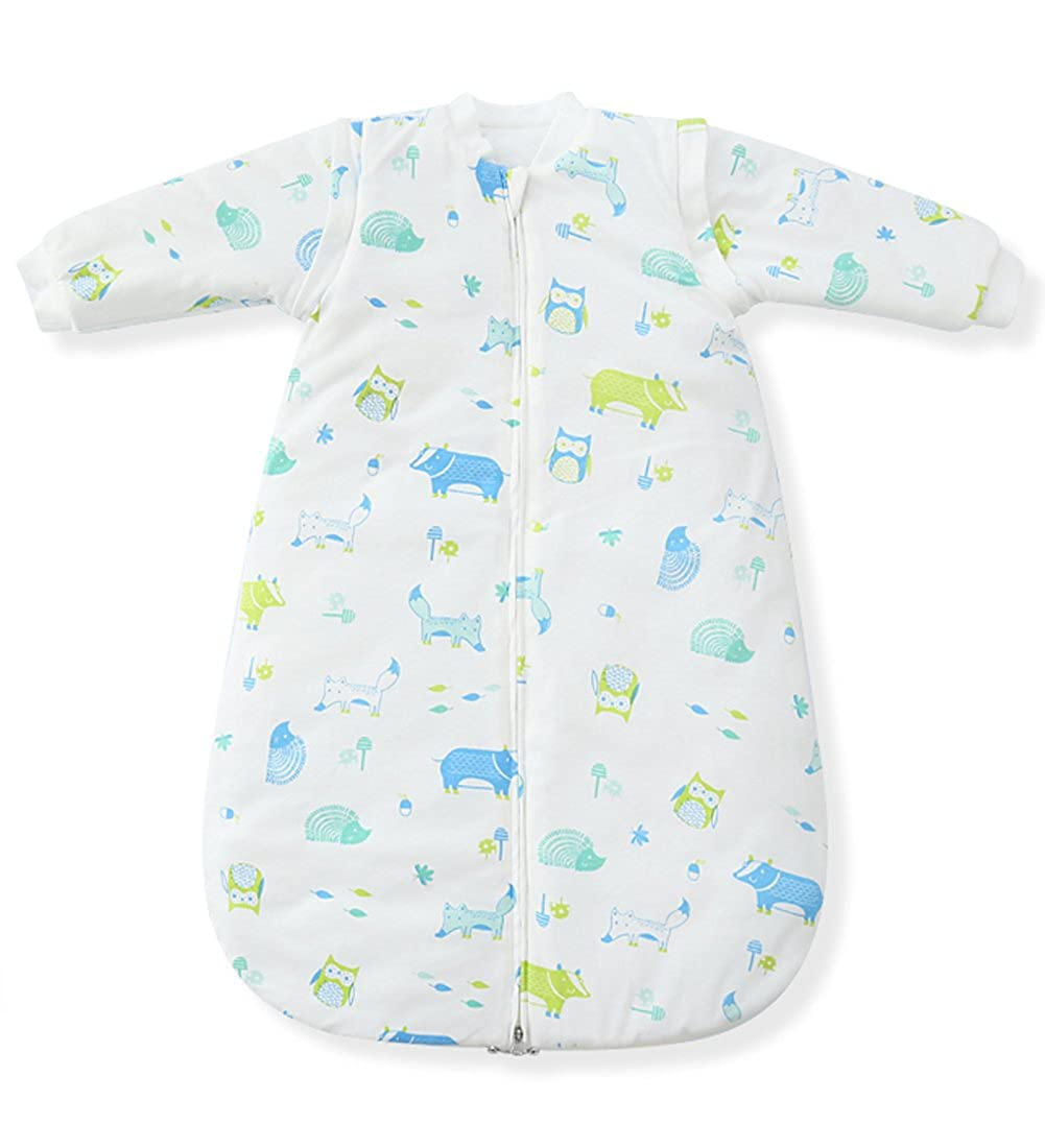 Fairy Baby Winter Baby Sleeping Bags Removeable Long Sleeve Thicken Cotton Approx. 3.5 Tog