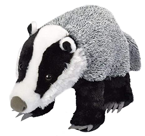 Wild Republic Peluche Tejón Común Cuddlekins, 30cm: Amazon ...