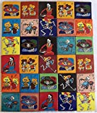 30 Hand Painted Day of the Dead Mexican Talavera Tiles 2 x 2