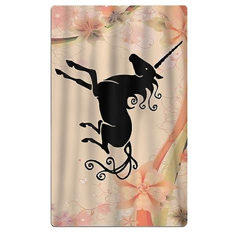 Unicorn sol sobre mis hombros toallas/talla única/para piscina sillas ligero absorbente toallas