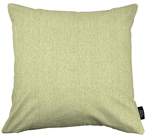 (McAlister Textiles Herringbone | Throw Pillow Cover in Sage Soft Green | Square 20x20 in. | Plush Soft Woven Tweed Cushion Sham for Bed & Couch | for a Country)
