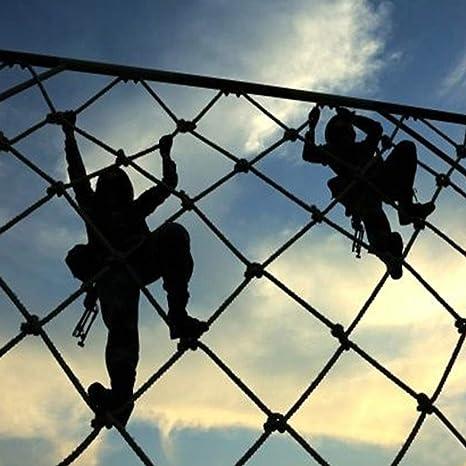 HUANPIN Juegos Exterior Niños Red De Escalada De Cuerdas para Niños Juego En El Jardín Interior & Exterior, Equipo De Parques Infantiles para Mejorar Agilidad Velocidad Coordinación: Amazon.es: Deportes y aire libre