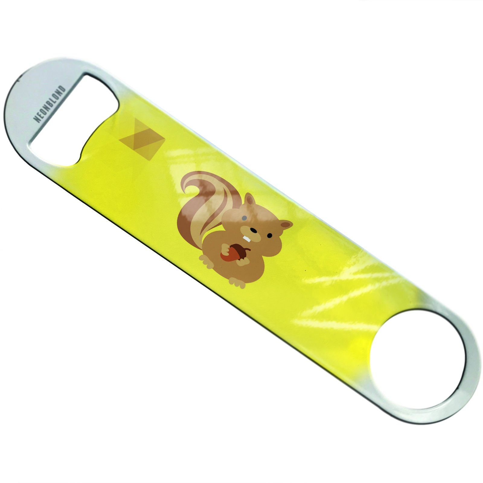 NEONBLOND Cute Animals for Kids Squirrel Flat Beer Bottle Opener Heavy Duty Bartender