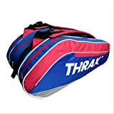 Thrax GTX Series Badminton Kit Bag Red and Blue