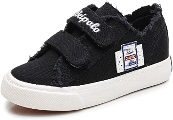 Toddler//Little Kids Believed Kids Canvas Sneaker Slip-on Baby Boys Girls Casual Fashion Shoes