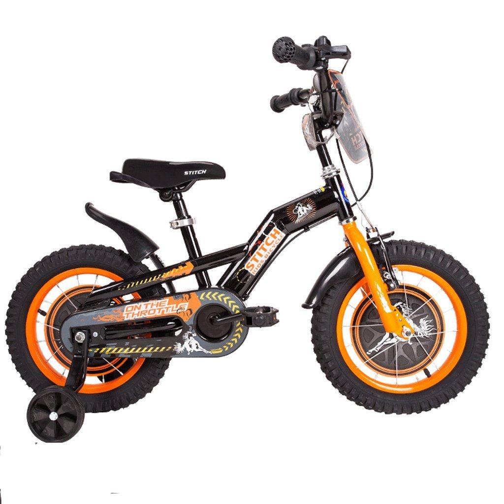 子供の自転車ベビーバイク2-12歳のベビーガールベビーカー12/14/16/18インチ (色 : B, サイズ さいず : 12インチ) B07D36Y21B 12インチ|B B 12インチ