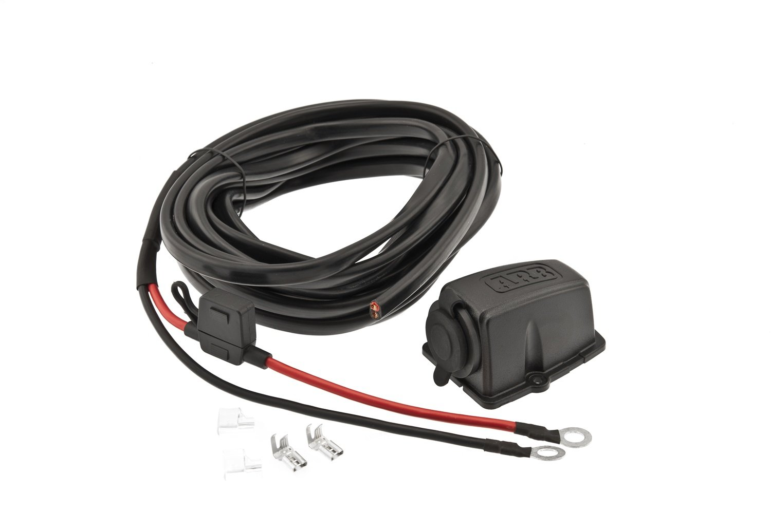6110edDFPfL._SL1500_ amazon com arb 10900027 12 24v dc wiring kit for refrigerator arb fridge wiring harness at gsmx.co