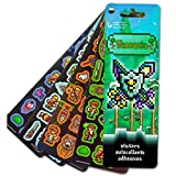 Terraria Stickers ~ 120 Stickers (Terraria Party Favors)
