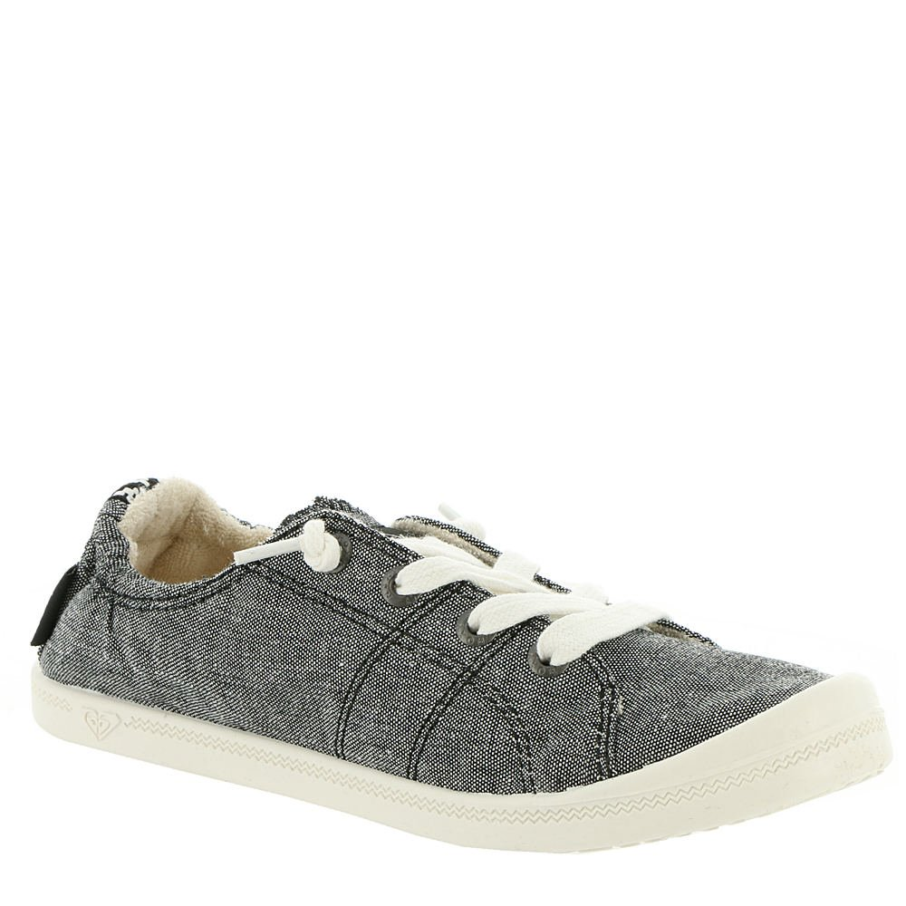 Roxy Women's Bayshore Slip on Shoe Sneaker, Black, 9.5 by Roxy