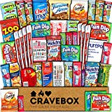 CraveBox Snacks 45 Count Ultimate Care Package Variety Box Gift Pack...