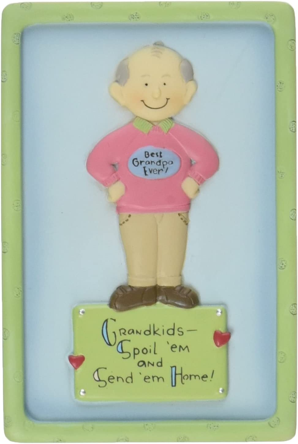 Well Seasoned by Pavilion Best Grandpa Ever 3-Inch Magnet