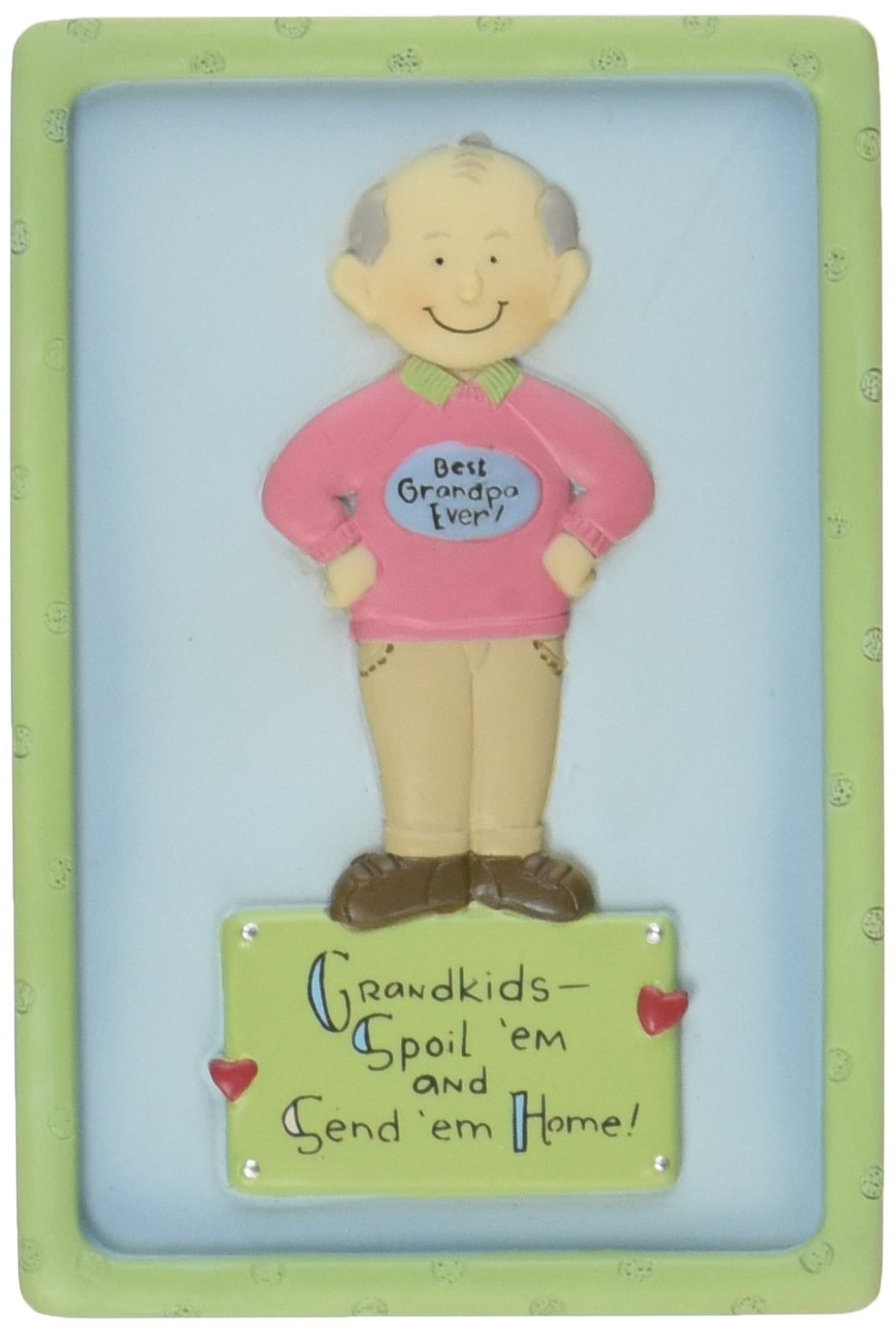 Well Seasoned by Pavilion Best Grandpa Ever 3-Inch Magnet Pavilion Gift company 33139