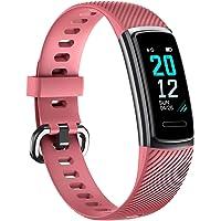 TOOBUR Montre Connectée Bracelet Connecté, Smartwatch Tracker d'Activité avec Cardiofréquencemètre Podomètre Calories Moniteur de Sommeil, IP68 Etanche Sport Smart Watch pour Homme Femme Enfant
