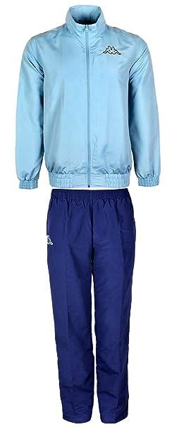 Juego de para hombre Kappa Chándal con cremallera chaqueta y cintura elástica pantalones azul azul marino XL: Amazon.es: Ropa y accesorios