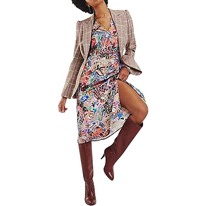 2f232224ec7 Tommy Hilfiger Women's Zendaya Satin Wrap Dress Multi Coloured: Amazon.ca:  Clothing & Accessories